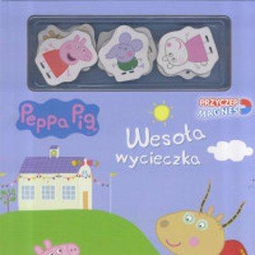 Media Service Zawada - Świnka Peppa. Przyczep magnes. Wesoła wycieczka