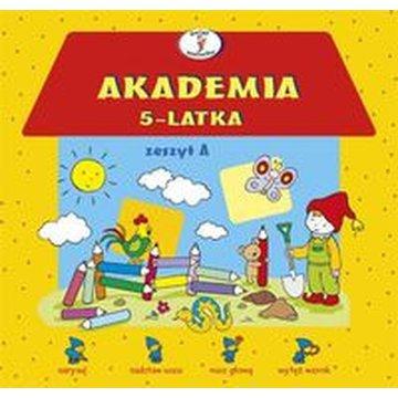 Skrzat - Akademia 5-latka. Zeszyt A