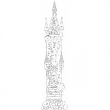 Monumi - Miarka wzrostu XXL. Zamek księżniczek. 160x40cm