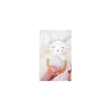 Grzechotka-gryzak drewniana owieczka Jabadabado JaBaDaBaDo