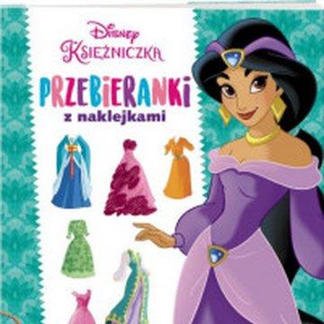 Ameet - Disney Księżniczka. Przebieranki z naklejkami