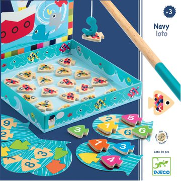 Djeco - Zabawka edukacyjna NAVY LOTO DJ01688