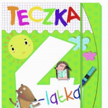 Olesiejuk Sp. z o.o. - Teczka 4-latka. Zgaduję, rysuję, maluję