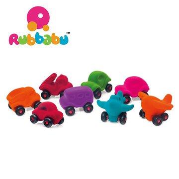 Rubbabu Zestaw 8 sensorycznych pojazdów – asortyment B