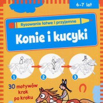 Vemag - Rysowanie łatwe i przyjemne. Konie i kucyki