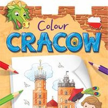 Aksjomat - Colour Cracow. Sticker and Colouring Book for Children
