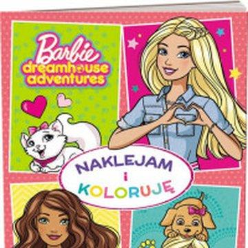 Ameet - Barbie. Naklejam i koloruję