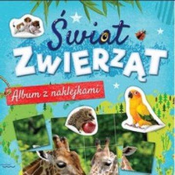 Aksjomat - Świat zwierząt. Album z naklejkami. Część 1