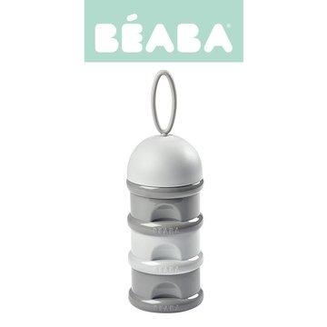 BEABA Pojemniki na mleko w proszku light/dark mist (opakowanie zbiorcze 6 szt.) Beaba