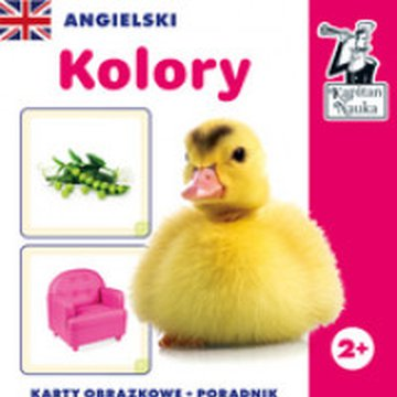 Kapitan Nauka - Angielski. Kolory (karty obrazkowe + poradnik)