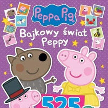 Media Service Zawada - Peppa Pig. 525 naklejek Bajkowy świat Peppy