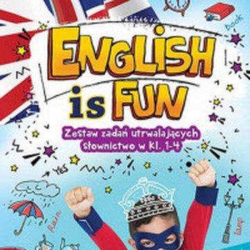 Aksjomat - English is Fun. Zestaw zadań utrwalających słownictwo w klasach 1-4