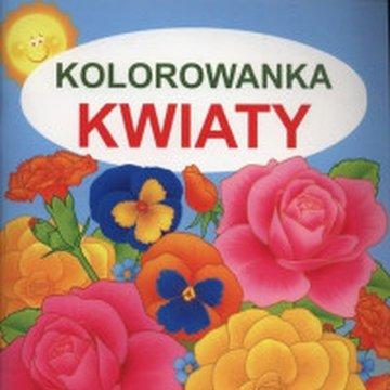 Martel - Kolorowanka. Kwiaty