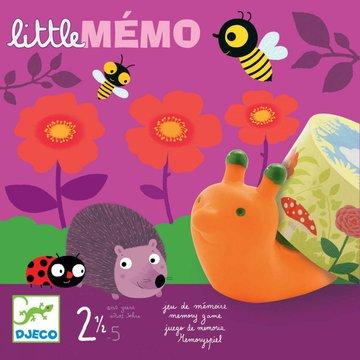 Djeco - Gra planszowa LITTLE MEMO DJ08552