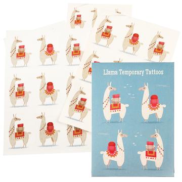 Tatuaże zmywalne dla dzieci, Lama, Rex London
