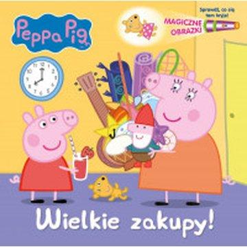 Media Service Zawada - Magiczne obrazki. Peppa Pig. Wielkie zakupy!