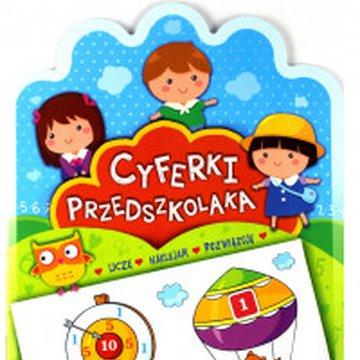 Aksjomat - Cyferki przedszkolaka od 5 lat