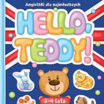 Aksjomat - Hello Teddy! Angielski dla najmłodszych 3-4 lata