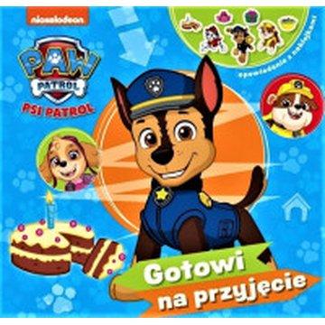 Media Service Zawada - Psi Patrol. Opowiadania z naklejkami. Gotowi na przyjęcie