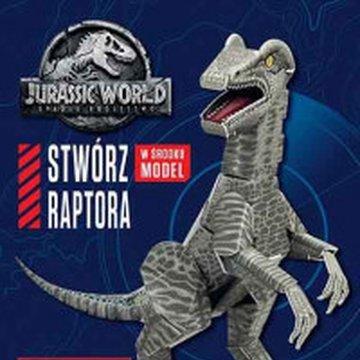Egmont - Jurassic World 2. Stwórz raptora. Książka młodego konstruktora