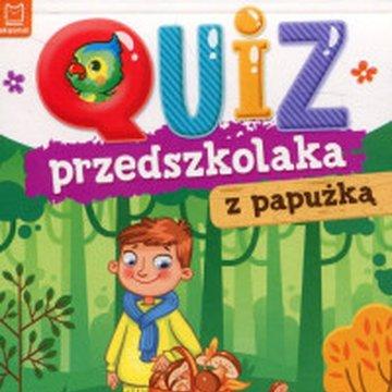 Aksjomat - Quiz przedszkolaka z papużką