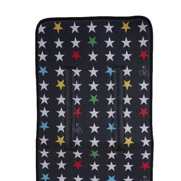 My Bag's Wkładka do wózka My Star's black MY BAG'S