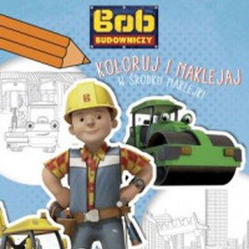 Egmont - Bob Budowniczy. Koloruj i naklejaj