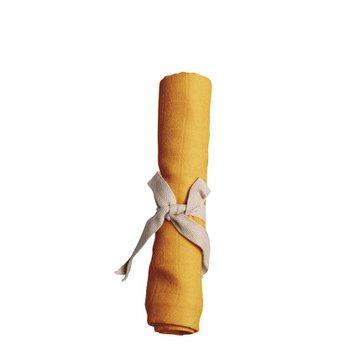 Filibabba Pieluszka muślinowa 65 x 65 cm Golden Mustard FILIBABBA