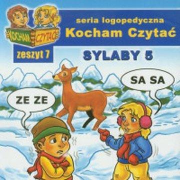 Wydawnictwo Edukacyjne - Kocham Czytać. Zeszyt 7. Sylaby 5