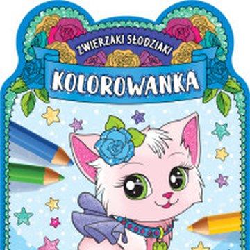 Aksjomat - Zwierzaki słodziaki. Kolorowanka