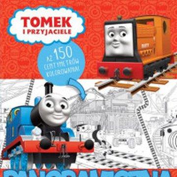 Egmont - Tomek i przyjaciele. Panoramiczna kolorowanka