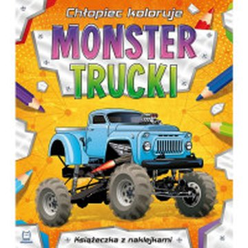 Aksjomat - Chłopiec koloruje. Monster trucki