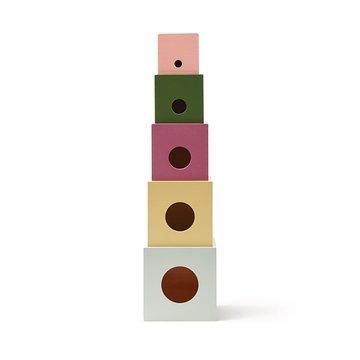 Kids Concept Drewniane Kostki do Układania