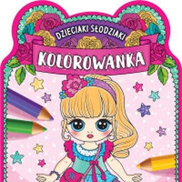 Aksjomat - Dzieciaki słodziaki. Kolorowanka