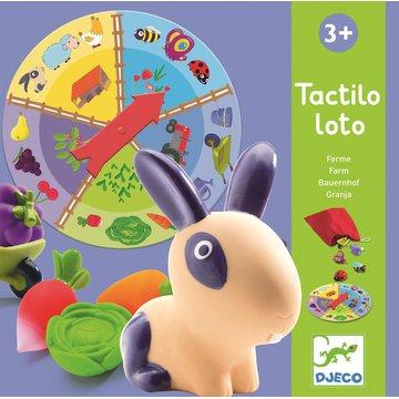 Djeco - Gra edukacyjna Lotto farma DJ08135