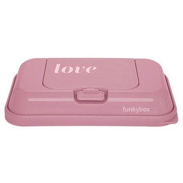 Funkybox - Pojemnik na Chusteczki To Go, Vintage Pink Love
